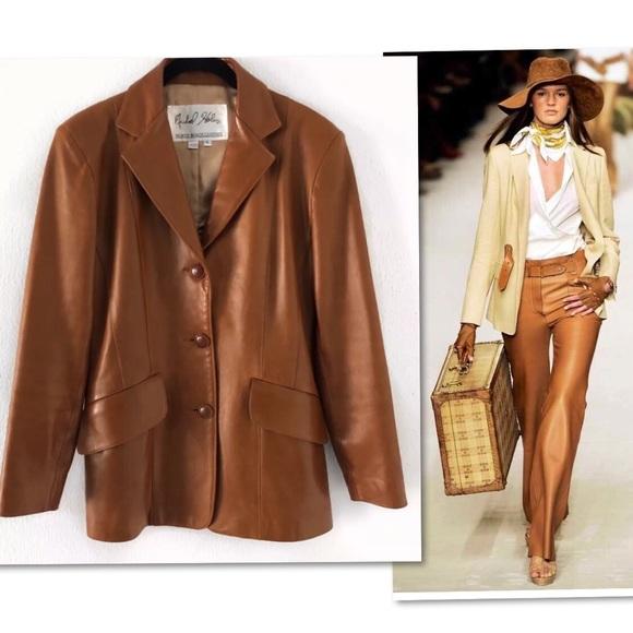 Michael Hoban Jackets & Blazers - Michael Hoban North Beach Leather Jacket SZ 6